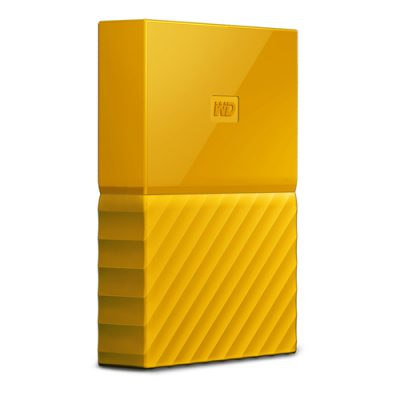 Disco Duro WD 4TB My Passport Worlwide Negro Amarillo