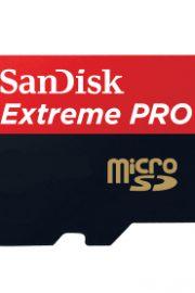 extreme pro sandisk microsdxc 64gb + adaptador
