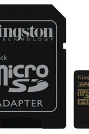 kingston gold microsd uhs-i speed class 3 32gb con adaptador