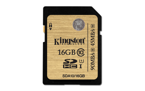 Kingston Technology SDHCSDXC Class 10 UHS-I 16GB