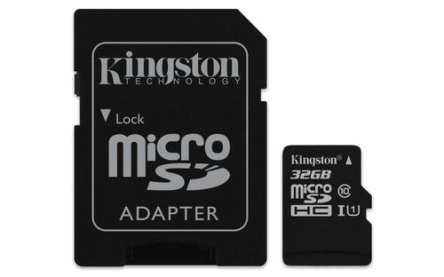 Kingston Technology microSDHC 32GB Class 10 UHS-I