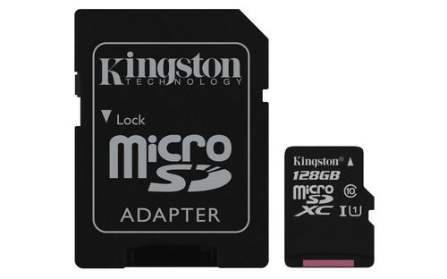 Kingston Technology microSDXC 128GB Class 10 UHS-I