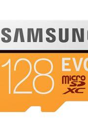 micro sd samsung evo 128gb clase 10 con adaptador