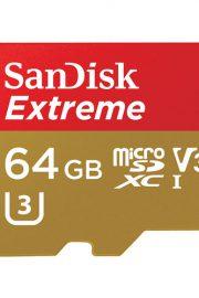 sandisk extreme microsdhc de 64 gb + adaptador sd