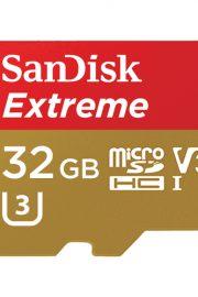 sandisk extreme microsdhc de 32 gb para camaras de deportes