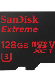 SANDISK EXTREME MICROSDXC 128GB + SD ADAPTER + RESCUE PRO DELUXE