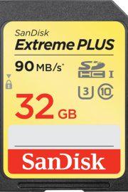 sandisk Extreme Plus sdhc 32gb 90mbs V30 uhs-i u3