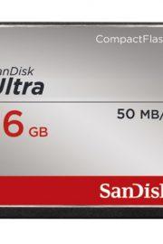 Sandisk Ultra CF 16GB 50MBs CompactFlash