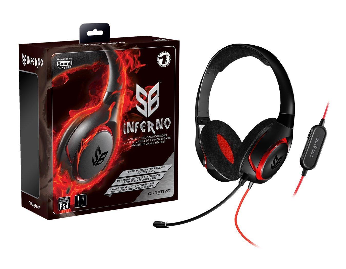 Auriculares Creative Sound Blaster Labs Inferno