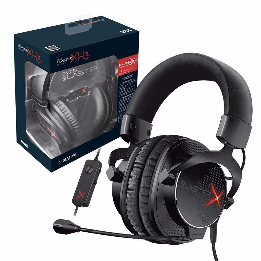 Auriculares Creative Sound Blaster X H3