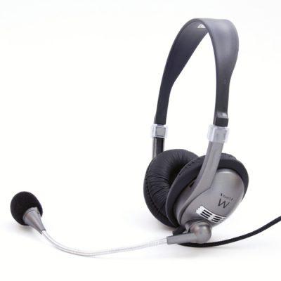 Auriculares Ewent EW3561 + Micro de Diadema Negro02
