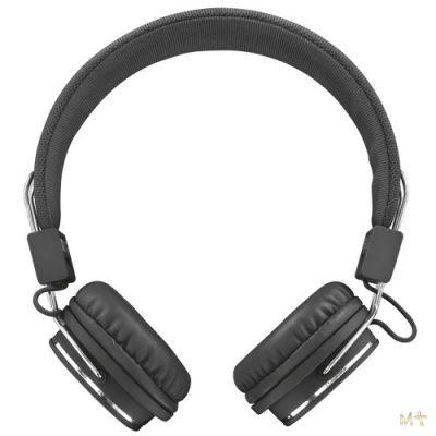 Auriculares Trust 21821 + Micro de Diadema plegable Negro