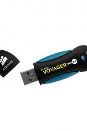 Corsair Voyager USB Negro-Azul 256GB Unidad flash