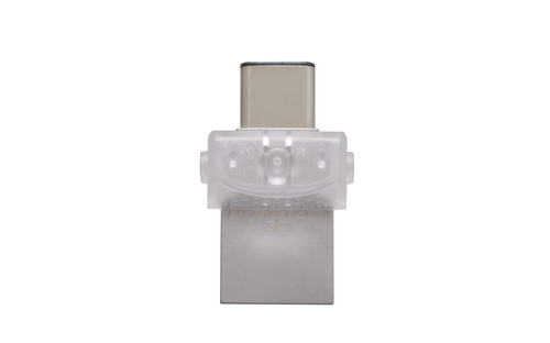 Kingston DataTraveler microDuo 3C USB Plata 32GB Unidad flash