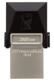 Kingston DataTraveler microDuo USB Negro 32GB Unidad flash