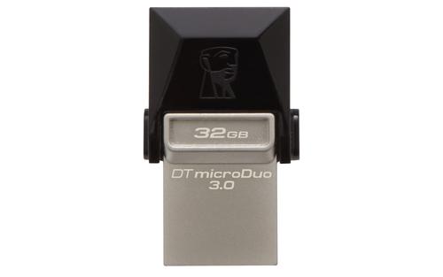Kingston DataTraveler microDuo USB Negro 32GB Unidad flash