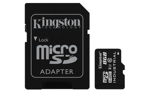 Kingston microSDHC 8GB UHS-I Clase 10 + Adaptador SDSDCIT