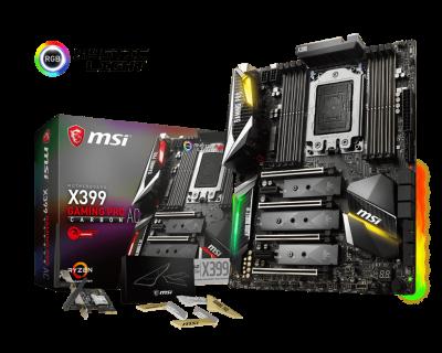 MSI TR4 X399 Gaming Pro Carbon AC