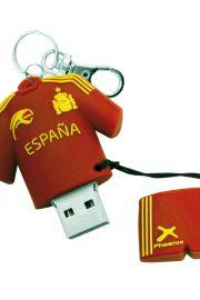 Phoenix Jetflash USB Rojo Selección Española + llavero 16GB