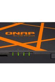 QNAP TBS-453A 4 Bahias Compacto Negro-Naranja