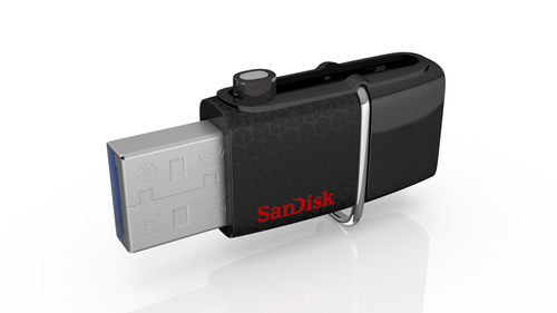 Sandisk Ultra Android Dual USB Negro 128GB