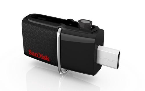 Sandisk Ultra Dual USB Negro 64GB Unidad flash
