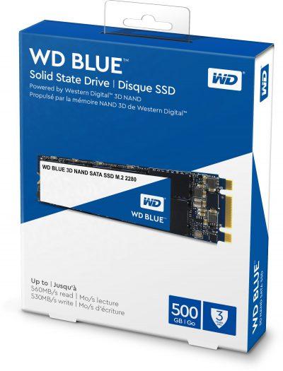 SSD WD Blue M.2 2280 500GB 01