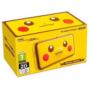 Consola New Nintendo 2DS XL Edicion Pikachu 01