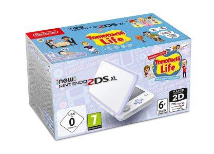 Consola New Nintendo 2DS XL Lavanda + Tomodachi Life 01