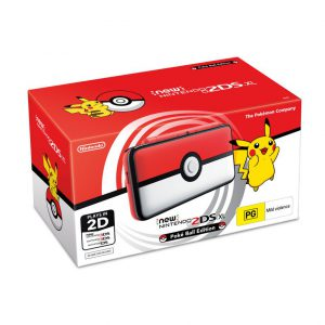 Consola New Nintendo 2DS XL Pokeball Edition 01