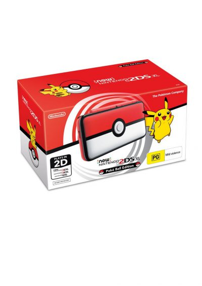 Consola New Nintendo 2DS XL Pokeball Edition Portada