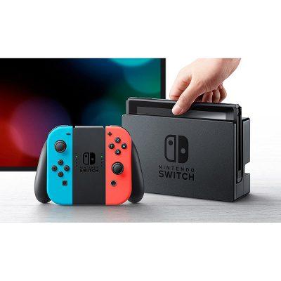 Consola Nintendo Switch Azul Neon-Rojo Neon 01