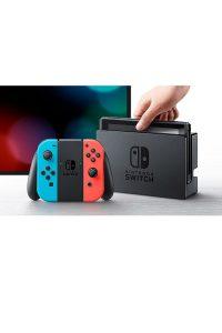 Consola Nintendo Switch Azul Neon-Rojo Neon Portada