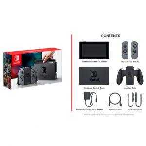 Consola Nintendo Switch HW Gris 05