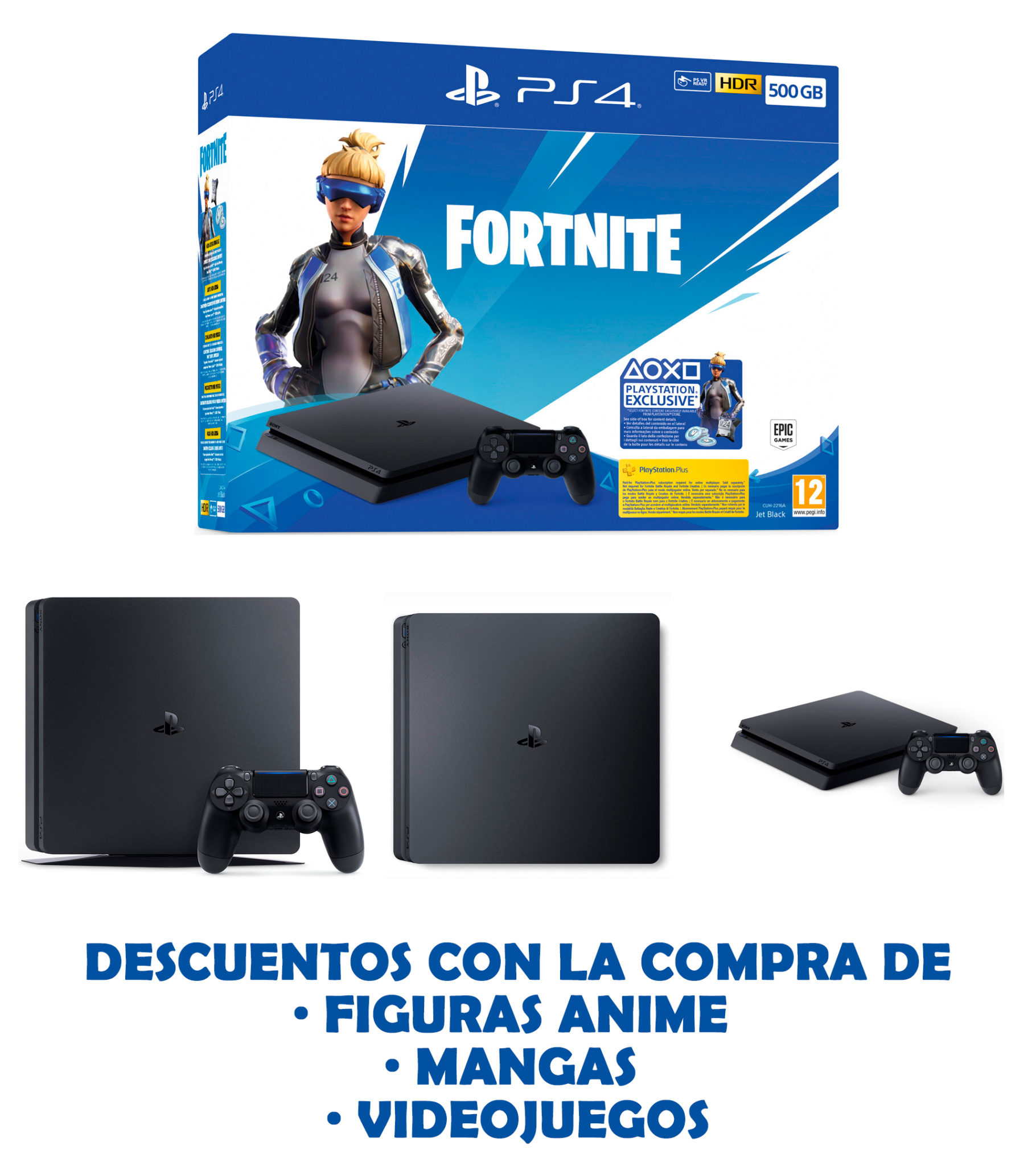 Consola-PS4-Slim-500GB-Fortnite-01