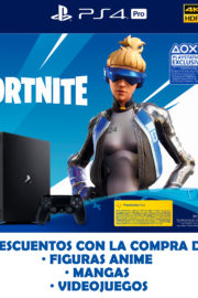 Consola PS4 pro 1TB Fortnite