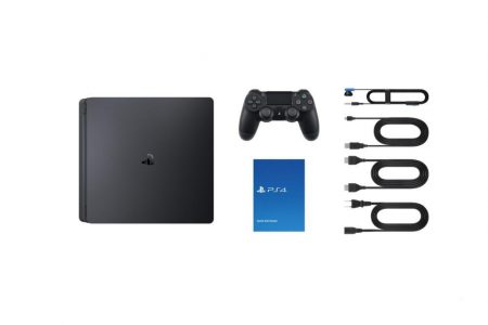 Consola Sony PS4 500GB negra + bono Fortnite 09