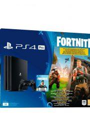 Consola Sony PS4 pro 1TB + bono Fortnite-Portada