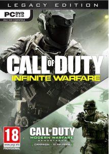 Call of Duty Infinite Warfare Legacy edition PC Portada