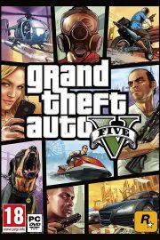 Grand Theft Auto V PC Portada
