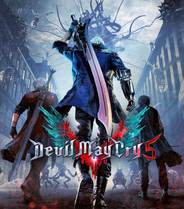 Devil May Cry 5 PC Portada