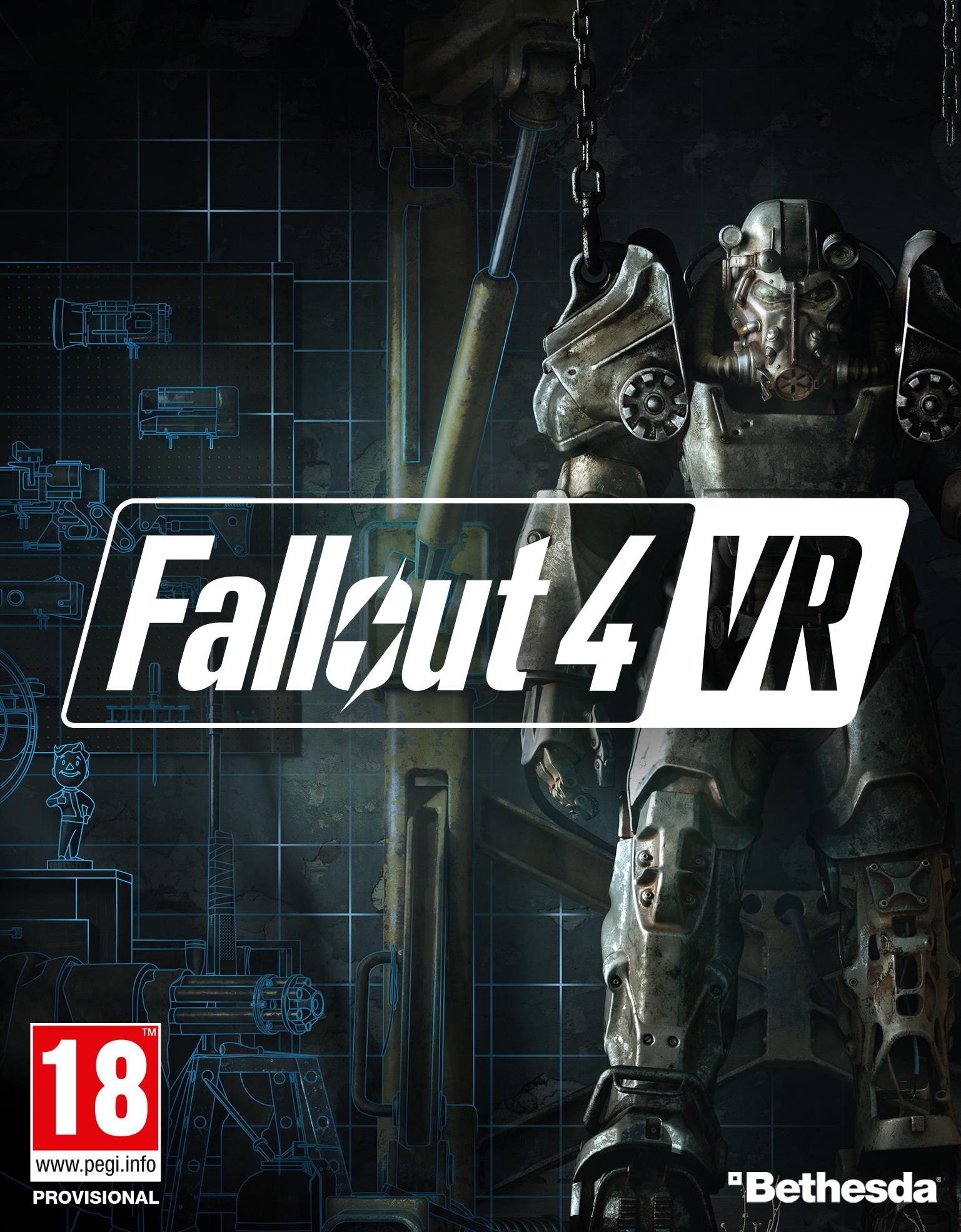 Fallout 4 VR PC Portada