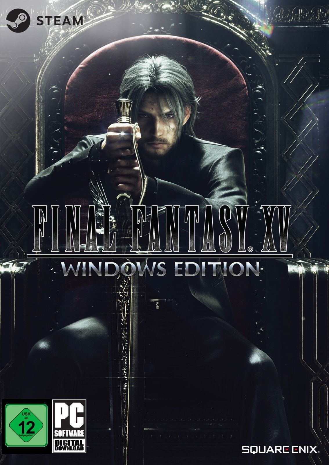 Final Fantasy XV windows edition PC Portada