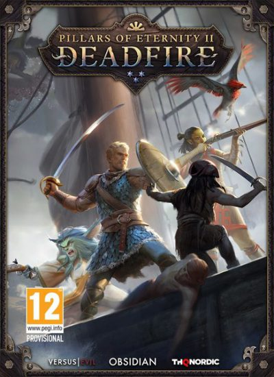 Pillars of Eternity II deadfire PC Portada
