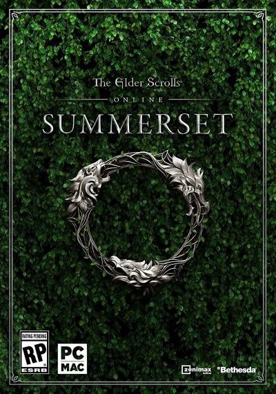 The Elder Scrolls Online Summerset Standard Edition PC Portada