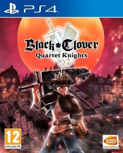 Black Clover Quartet Knights PS4 Portada