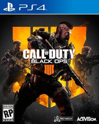 Call of Duty Black Ops 4 PS4 Portada