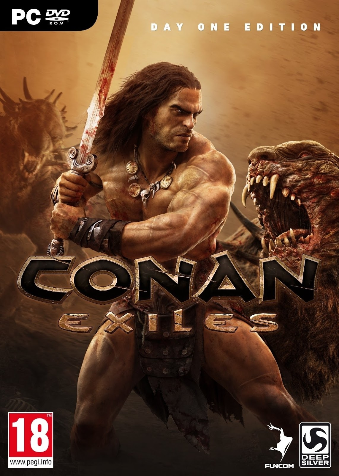 Conan Exiles Day One ED PC Portada