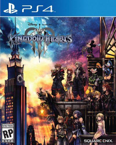 Kingdom Hearts III PS4 Portada