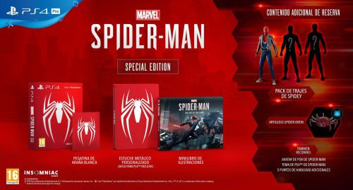 Marvels Spiderman Special Edition PS4 01